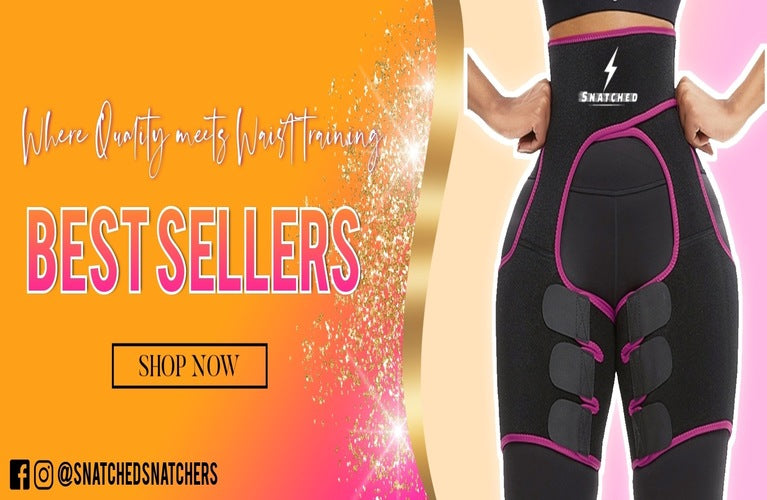 lose belly fat, snatched waist trainers for sale including sauna vest, double belt waist trainer, arm slimmers, thigh trimmers