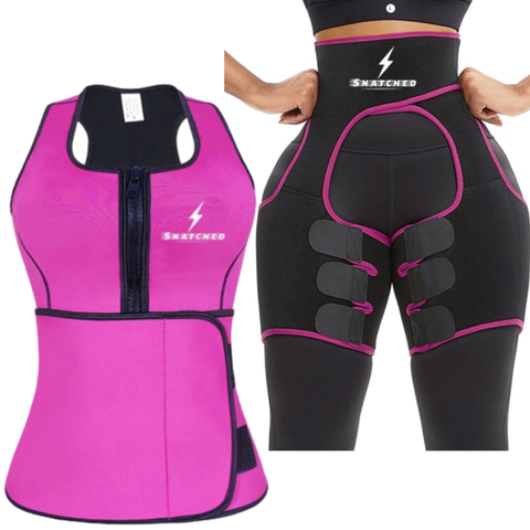Sweat Extreme-two piece set-Snatched Fitness