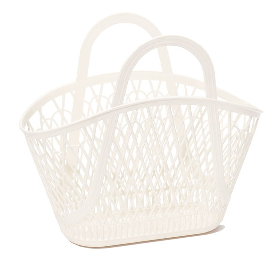 Betty Basket // Cream