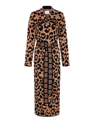 Ikat Duster Camel/Black