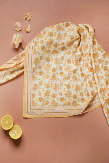 Rebha Scarf // Blush Flowers
