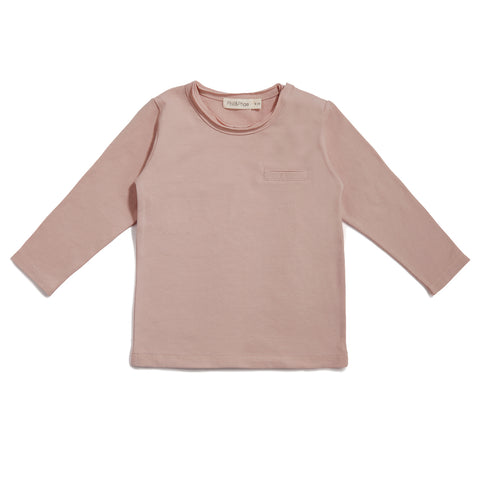 pocket tee | vintage blush - Minitrend.is