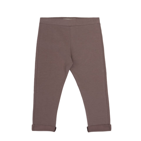 basic jersey pants | heather - Minitrend.is
