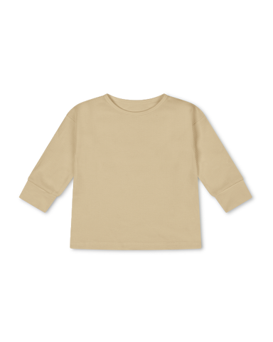 basic longsleeve | cream