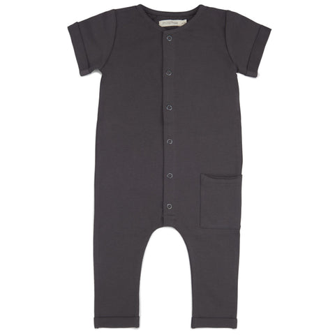 pocket jumpsuit | graphite