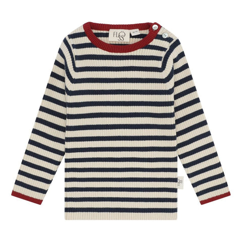 star peysa | navy stripe