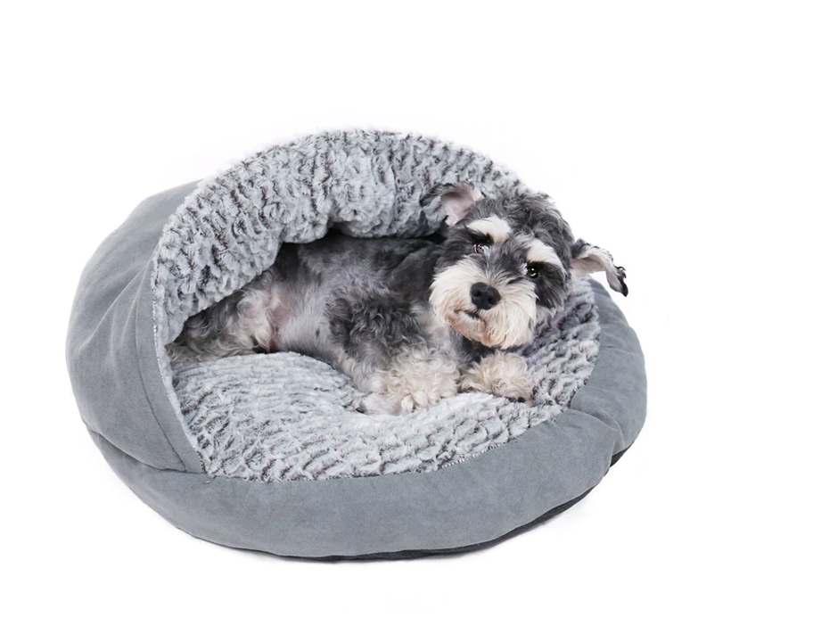 Luxury Pet Orthopedic Ultra-Plush & Velvet Round Bed