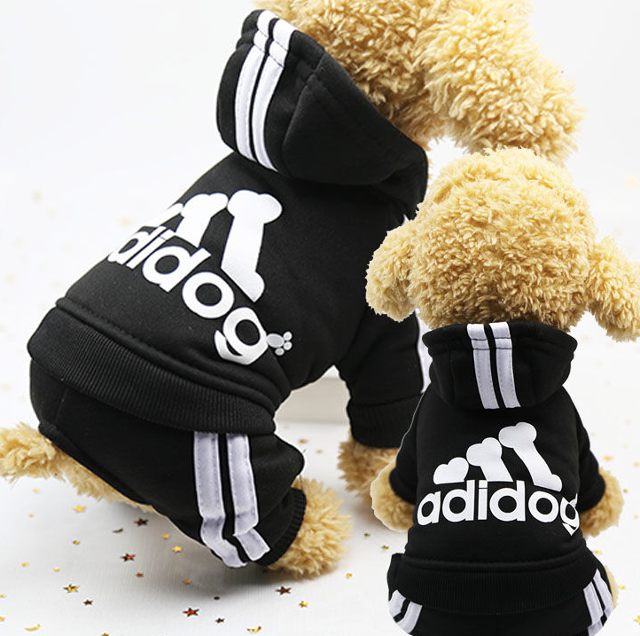 Adidog Dog-Puppy Hoodie Clothes