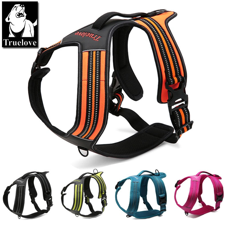 Sporty No Pull Reflective Harness