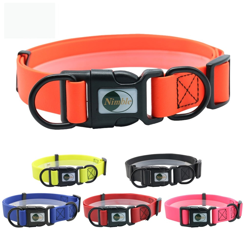 PVC Waterproof Anti-Dirty Dog Collar