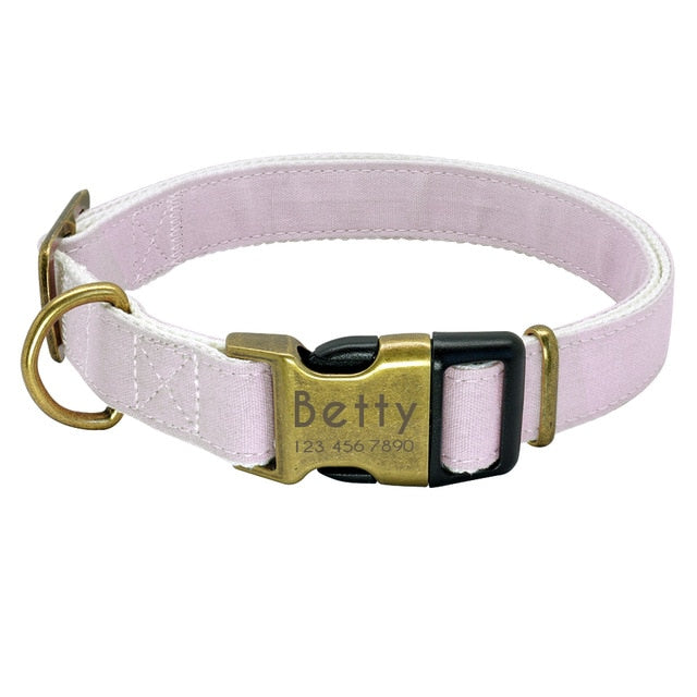 Personalized Engraved ID Collar