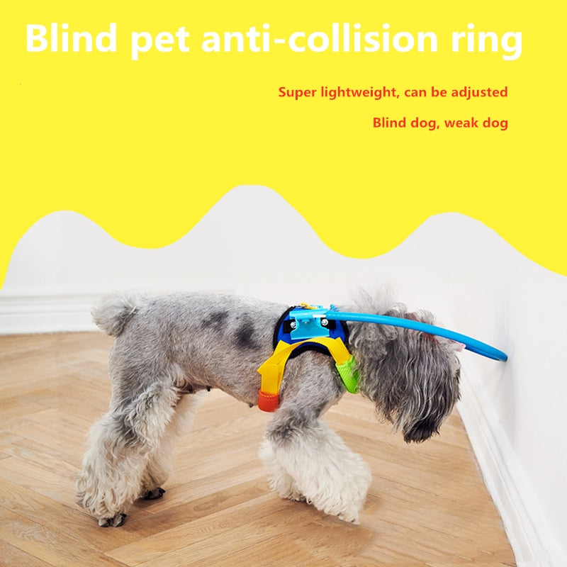 Blind Dogs Pet Safe Harness Anti-collision Ring Pets-Halo Harness