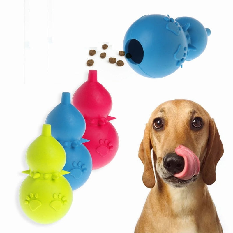 Interactive Rubber Gourd Ball-Kong for Puppies