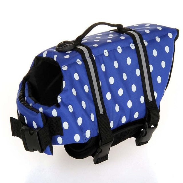 Printed Pet Life Swiming Life Jacket