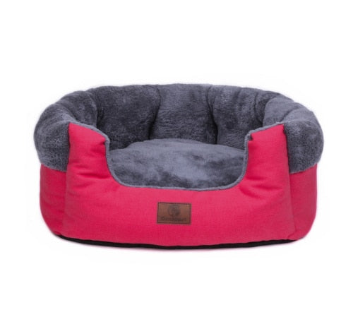 Super Comfy Velvet Fleece Cave for Dogs and Cats Anti Skid Cotton Material