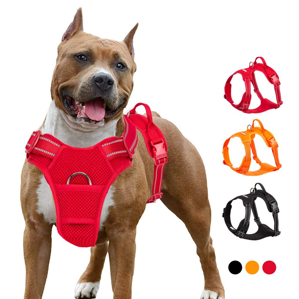 Strong Harness (No Pull) for Large Dogs