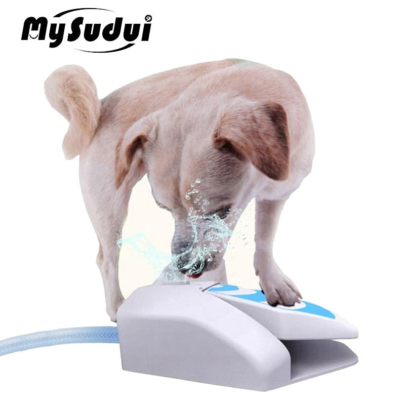 Automatic Pet Dog Outdoor Water Fountain