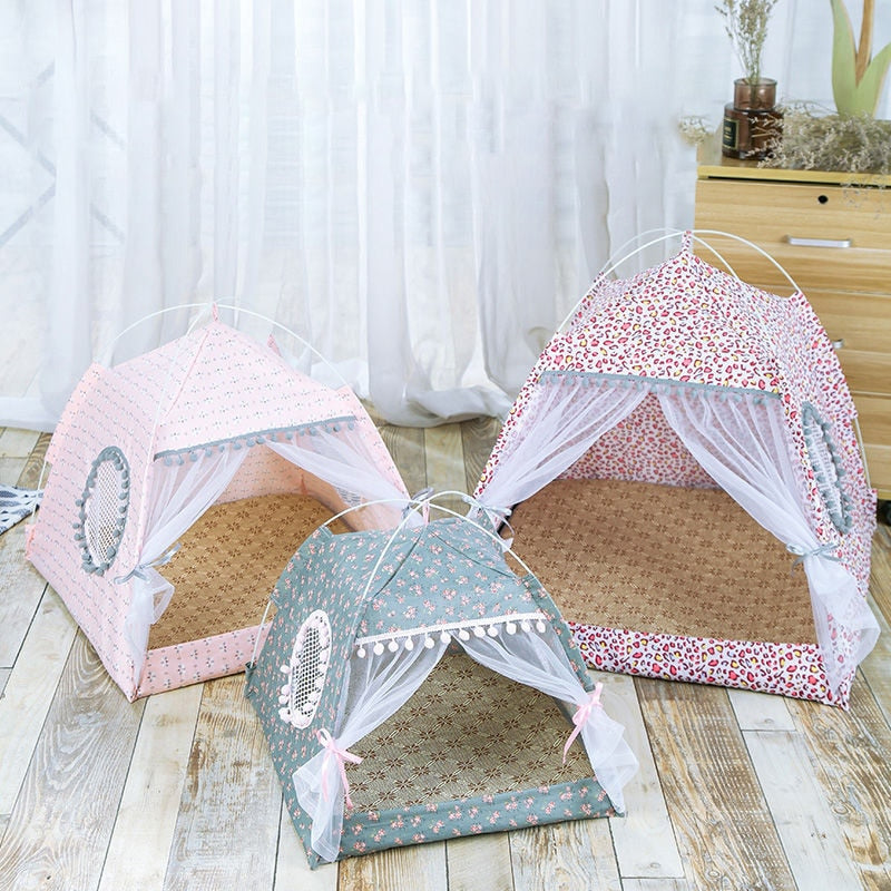 Cozy Calming Bed Nest Tent for Cats and Small Breed Dogs