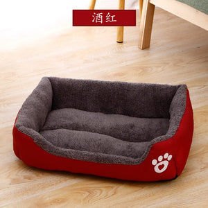 Soft Square Pet Bed