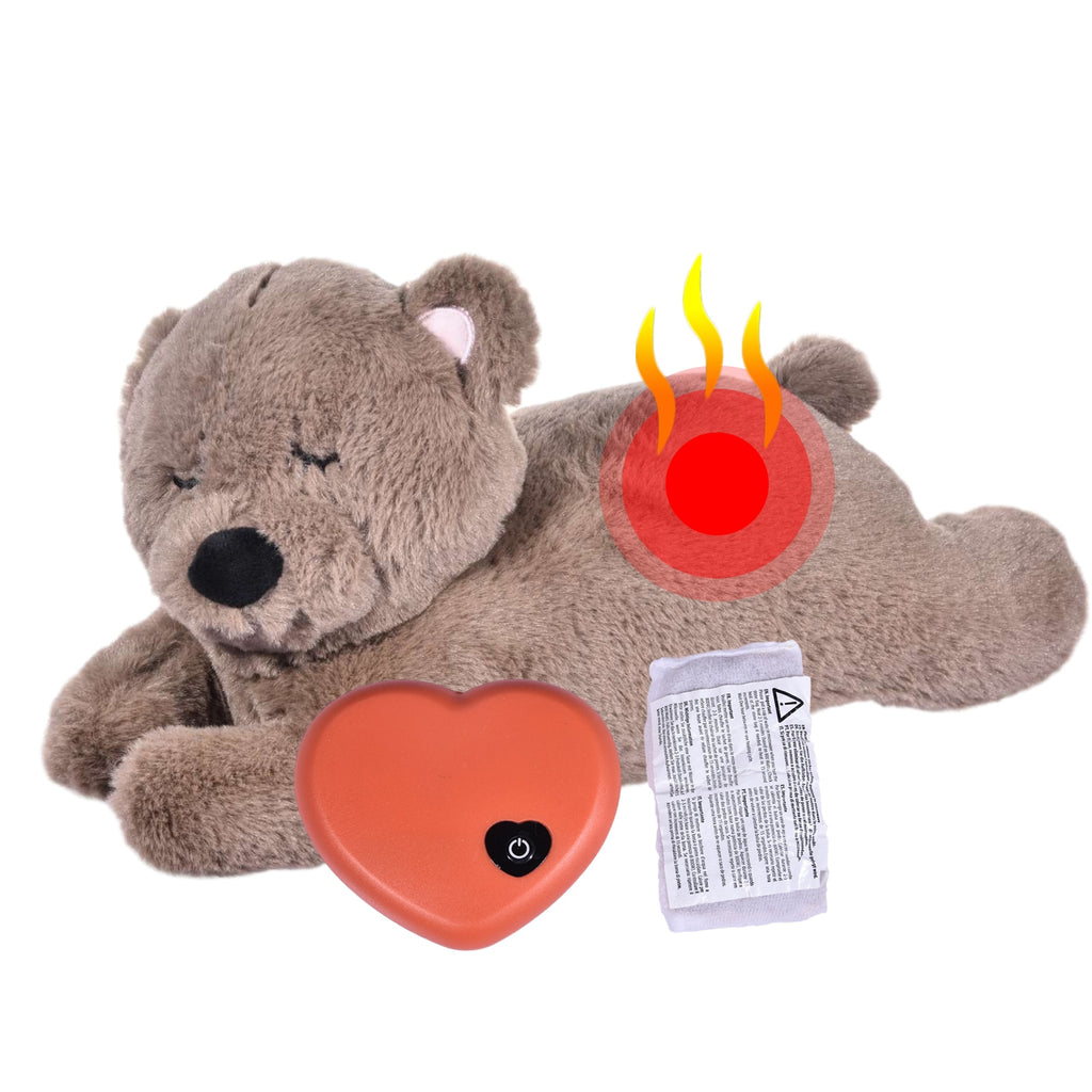 New Improved Snuggle HeartBeat Behavioural Pet Toy for Separation Anxiety