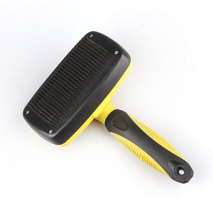Dog Self Cleaning Slicker Brush Comb (Removes Loose Hair)