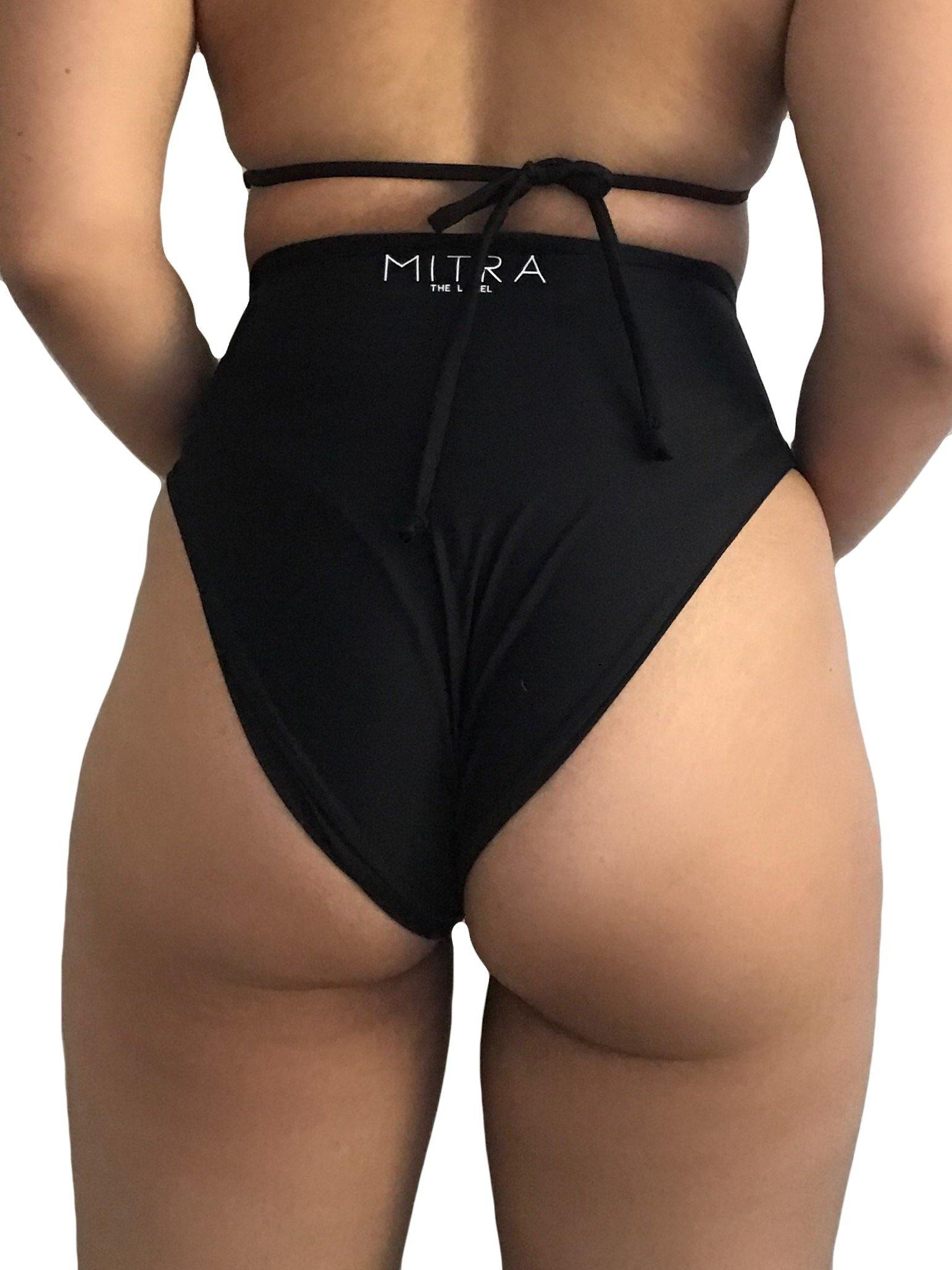 Reversible Luna High Waisted Bikini Bottoms