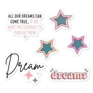 Pursue Your Dreams Stickers | Sheet