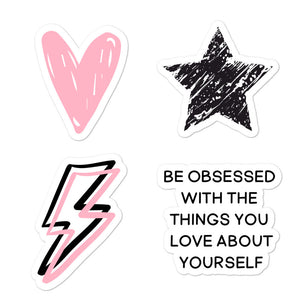 Love Yourself Stickers | Sheet
