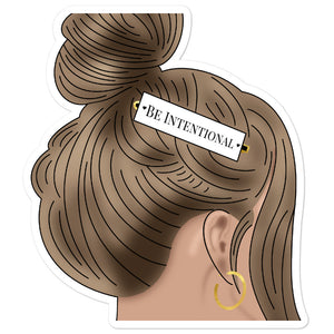 Be Intentional Sticker | Singles