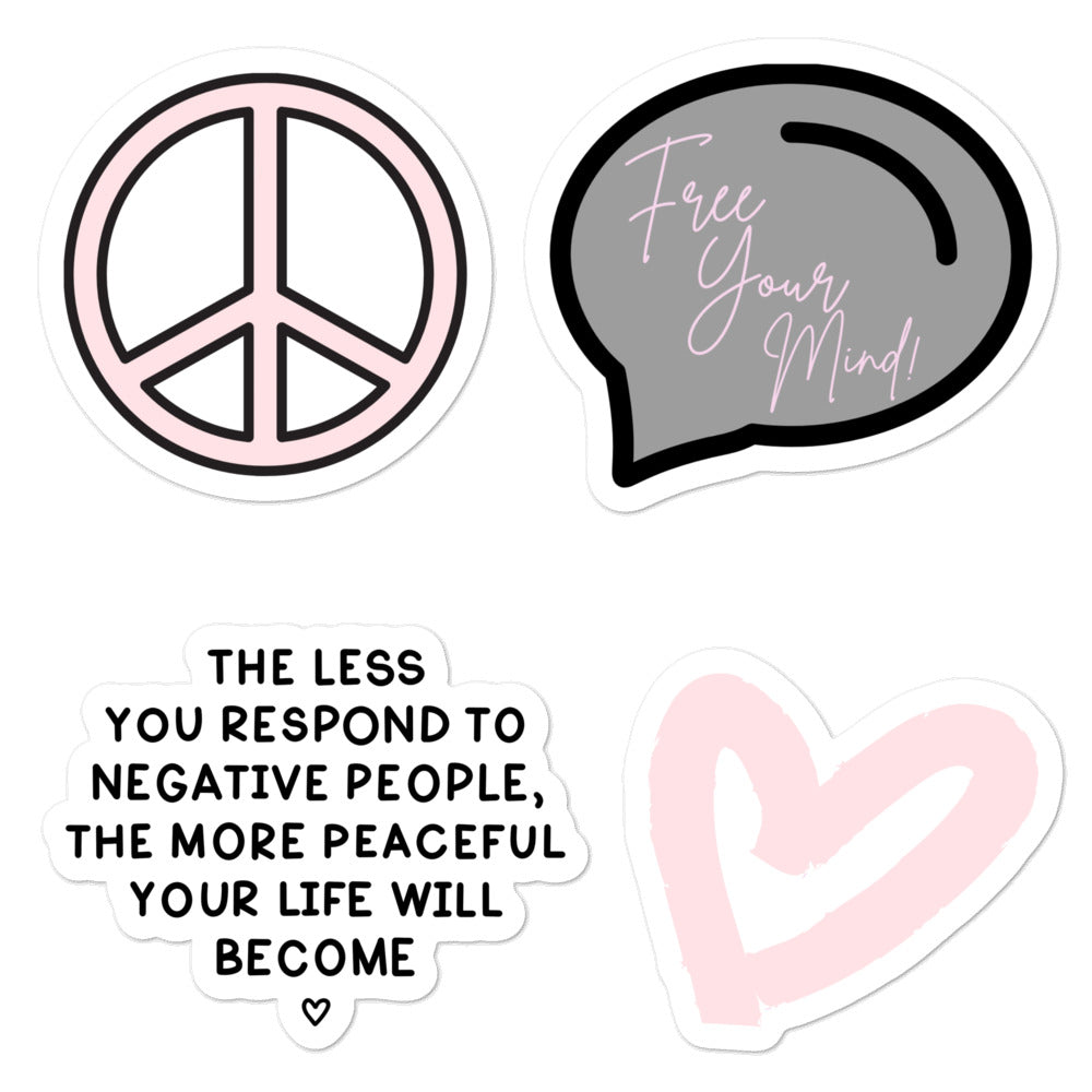 Free Your Mind Stickers | Sheet