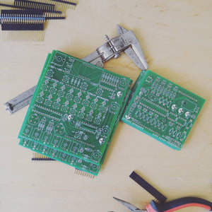 Super Sixteen PCB and Panel set w/ microcontroller