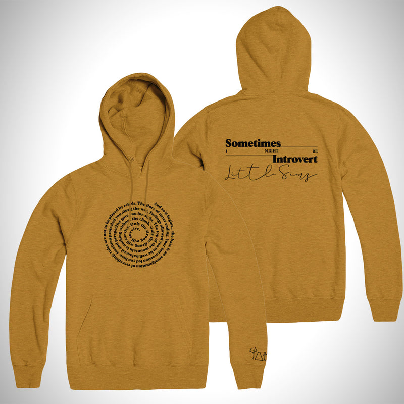 Sometimes I Might Be Introvert Album Hoodie (Mustard)