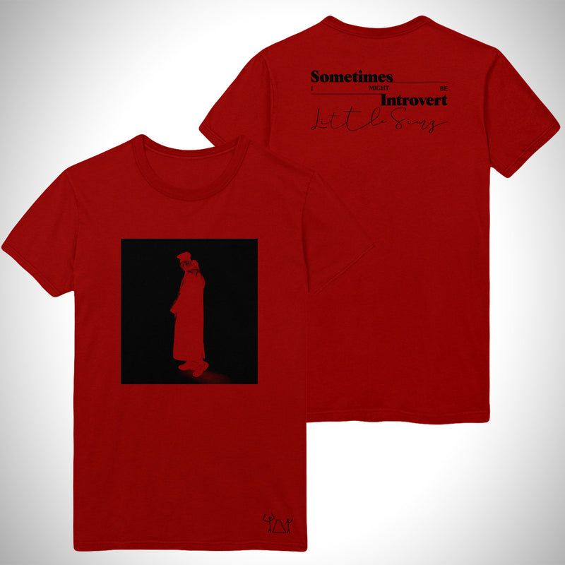Sometimes I Might Be Introvert Album Tee (Red)