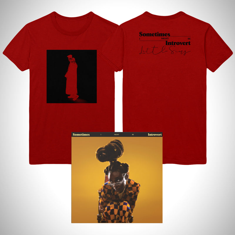 Introvert Red Tee + Album