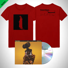 Load image into Gallery viewer, Introvert Red Tee + Album