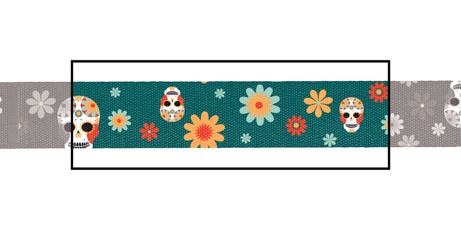 Load image into Gallery viewer, Fiesta Mexicana dog collar
