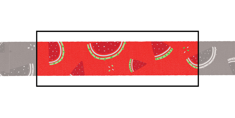 Load image into Gallery viewer, Fresh Watermelon dog collar