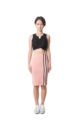 Cindy's Pencil Skirt - Pink