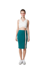 Cindy's Pencil Skirt - Green