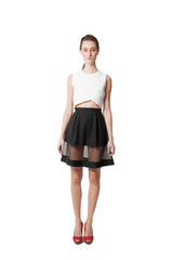 Louisa's Flared Skirt - Black