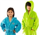 PARADOR® HOODED TERRY VELOUR 100% COTTON KIDS COVER UP