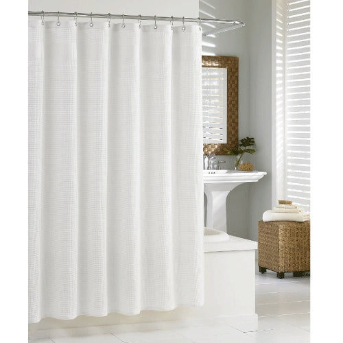 Hotel Waffle Wave Shower Curtain