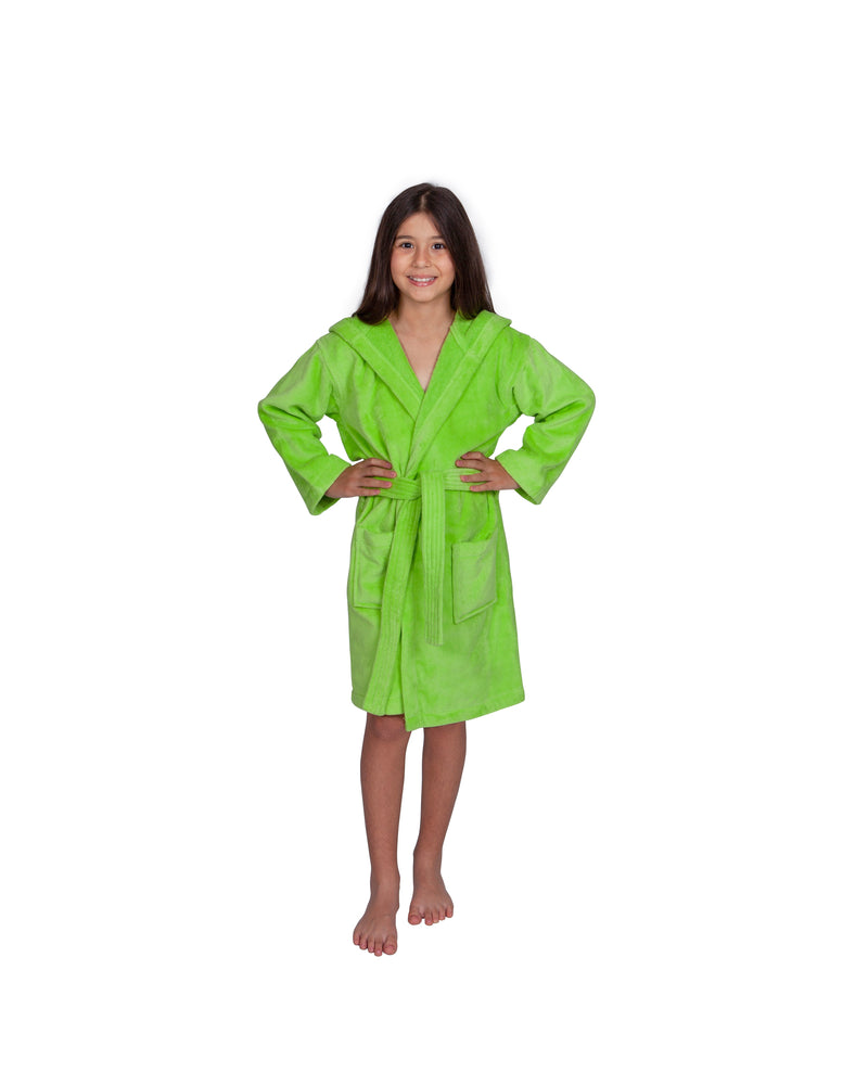 Parador® Kids Turkish Terry Velour Hooded, 100% Cotton, Monogrammed and Personalized Beach or Pool Cover Up for Girls