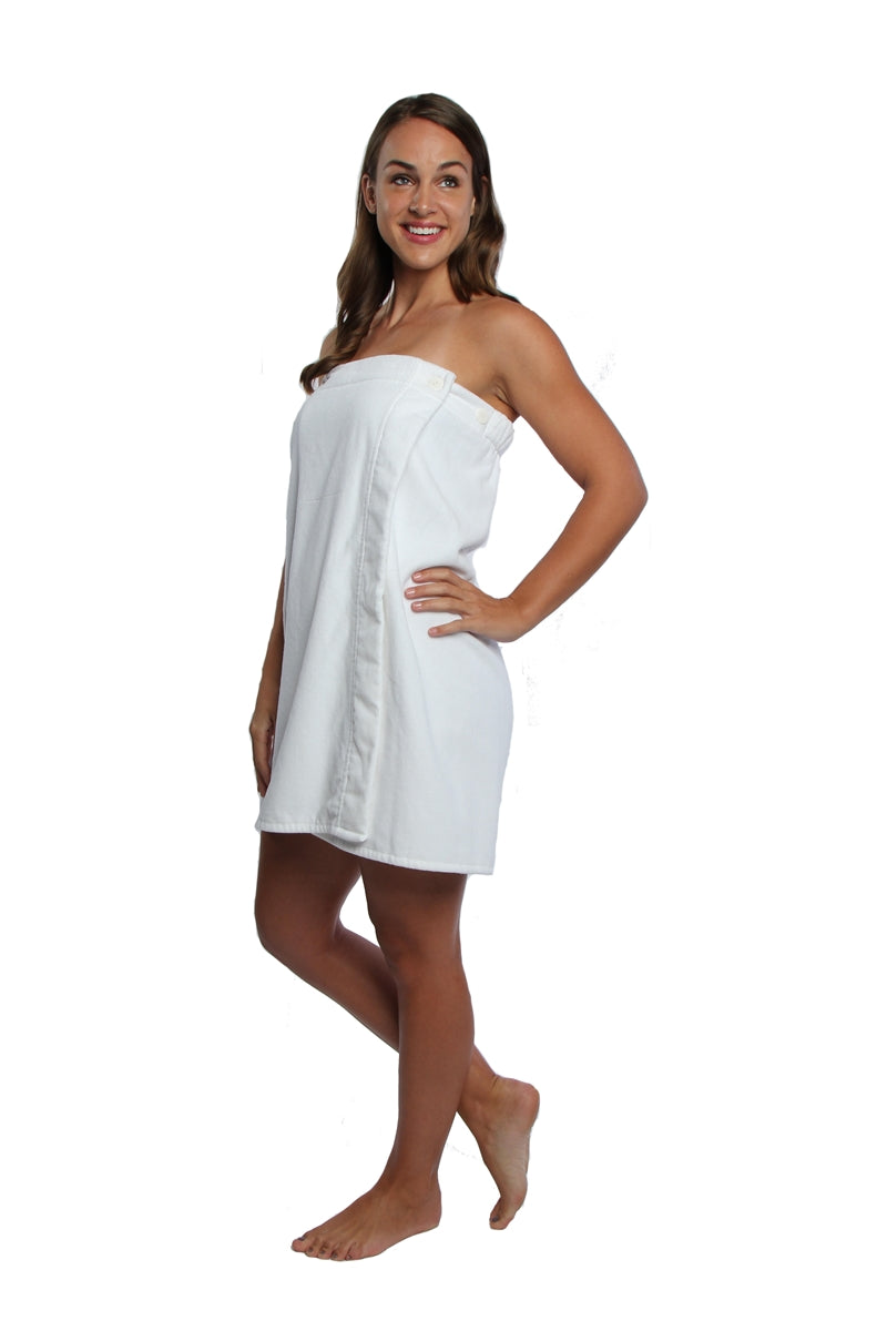 PARADOR SPA WRAP WHITE