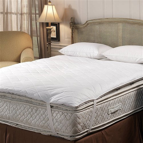 Downlite Deluxe 10/90 Quilted Pillow Top King Feather Bed