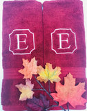 Personalized Egyptian Cotton Bath Towel, 100% Cotton | Monogrammed Gift Towel | Arosa Bath Towel for Kids, Teens and Adults Valentines