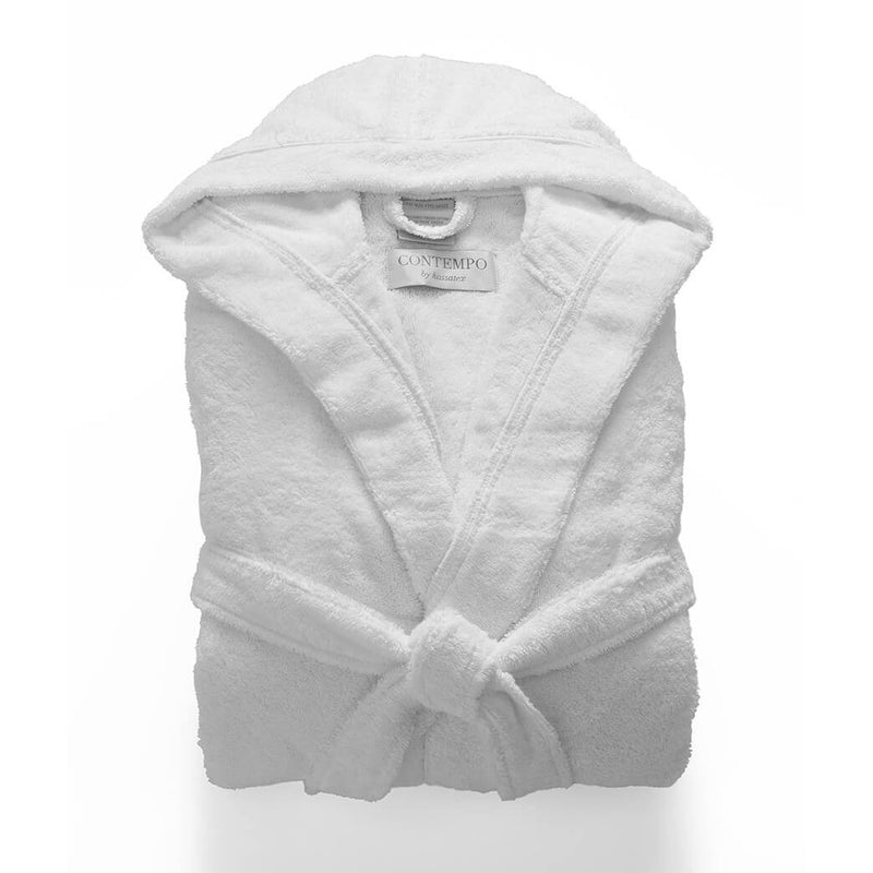 Babylon Supremely Plush-Soft Hooded Turkish Bathrobe, Personalize with Embroidery