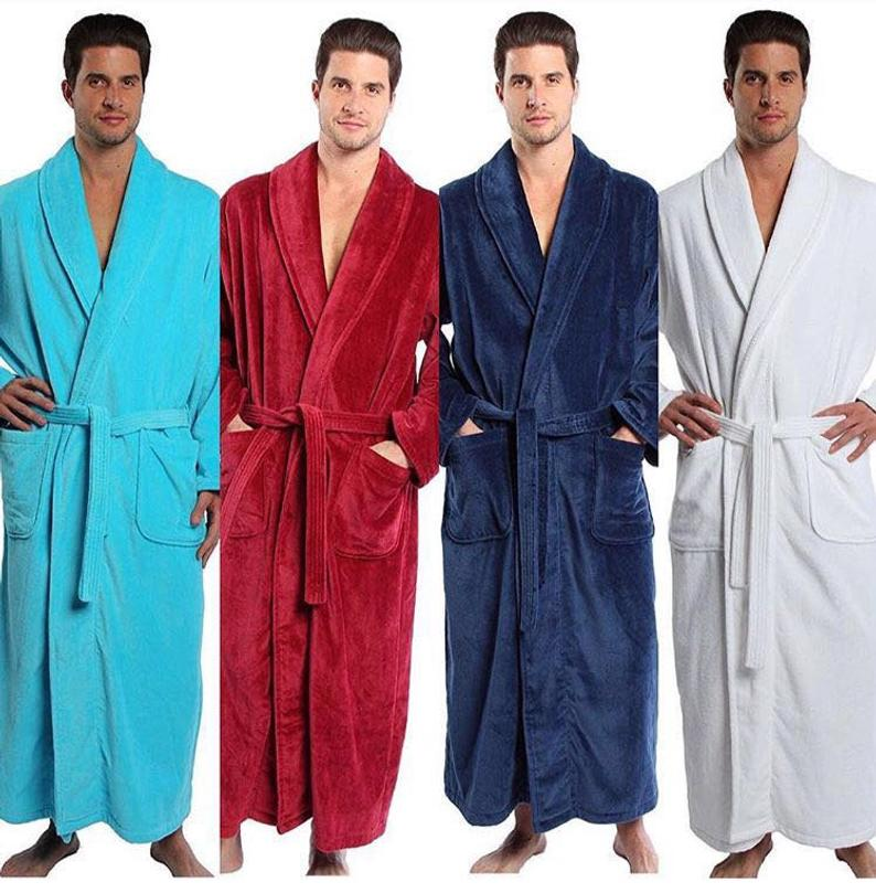 Personalized Terry/Velour Shawl Bathrobe Full Ankle Length , Parador® Embroidered Bath Robe, Monogrammed 100% Combed Pure Turkish Cotton