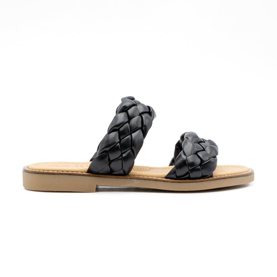 Braided Leather Sandals 225/8