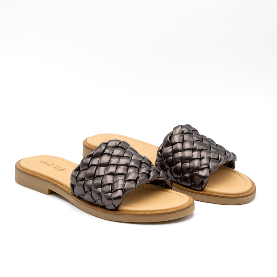 Braided Leather Sandals 220/1